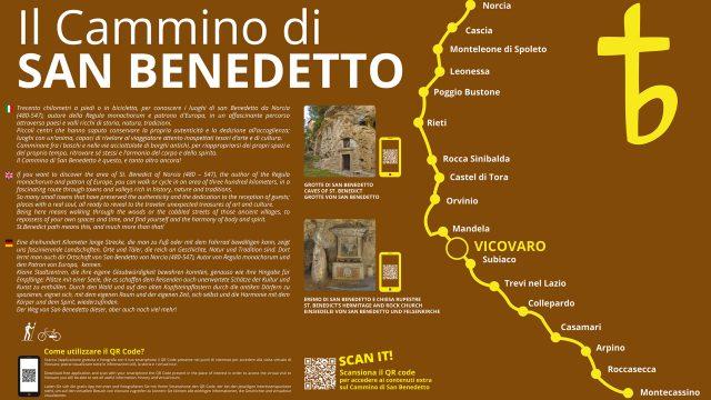 Il Cammino di San Benedetto – Il Diario-