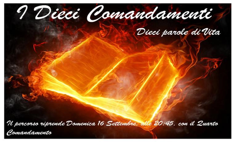 I Dieci Comandamenti – Il Percorso